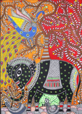 Madhubani art is one of the famous art forms that originated from a village call…