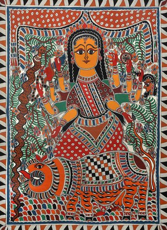 Durga, also revered as Adi Parashakti, is the goddess of war. She is the Mother …