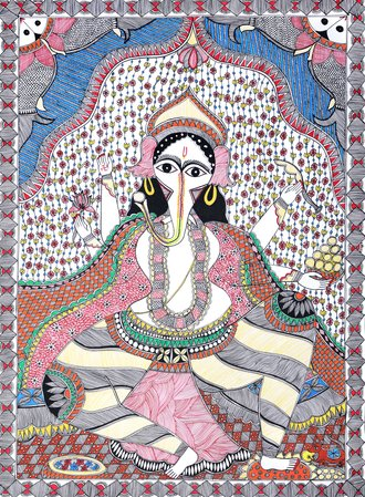 There is much that is unique to the Madhubani painting tradition. A number of fa…