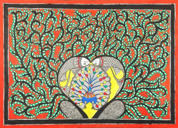Madhubani paintings are known for their unique and creative take on everyday sce…