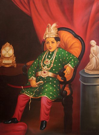 Specifications:  Oil Painting on Canvas  Artist: Anup Gomay  34.0 inch X 46.0 in…