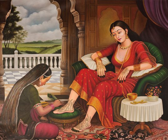 Mehandi of the Bride The whereabouts of women and the goings on of their hearts,…