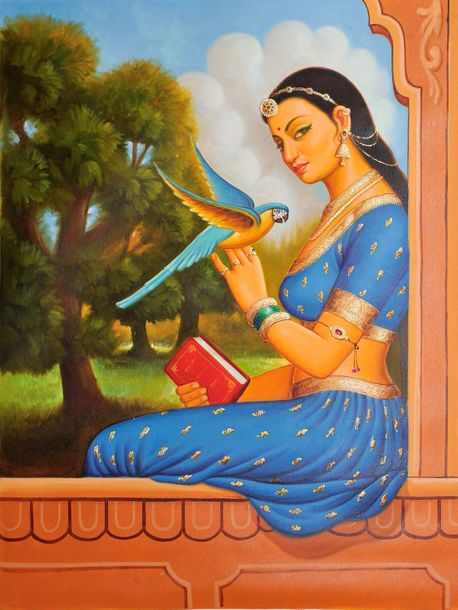 AnupGomay is known for his artistic ability to provide picturesque backgrounds t…