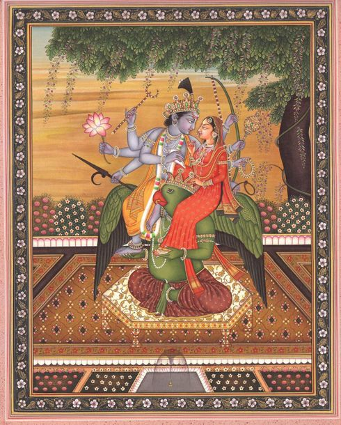 Lord Vishnu and Mother Lakshmi are the divine couple responsible for preserving …