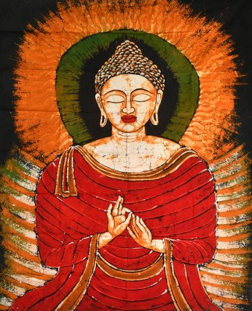 Images of the meditating Buddha abound, but there is something about this one. M…