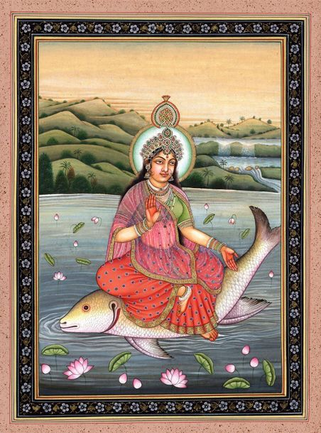 "The Earthy Beauty Of Devi Ganga ""Darshanatsparshanatpanattatha Gangeti/Keertanat…"