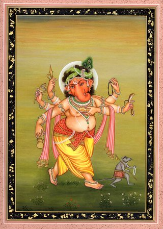 Ganesha Traverses The Countryside No amount of expression is enough for the appe…