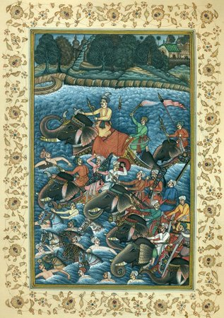 Crossing the River Navrang has shown a lovely plethora of tints to depict the sc…