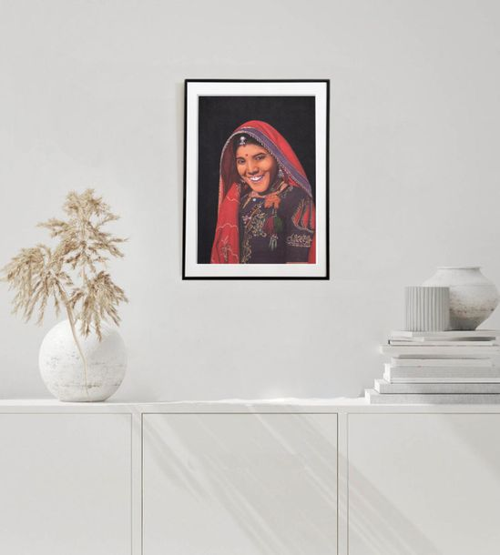 Gypsies of India Series 1 A lovely water coloured canvas is illustrated to depic…