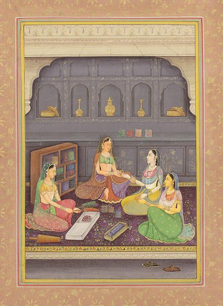 Specifications:  Watercolor Painting On Paper  Artist: Navneet Parikh  10.3 inch…