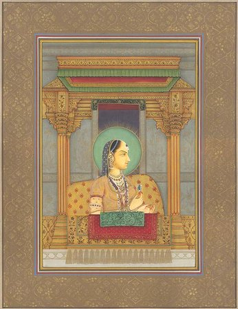 Noble Lady Holding a Jewel Navneet Parikh registers the best art ever witnessed …