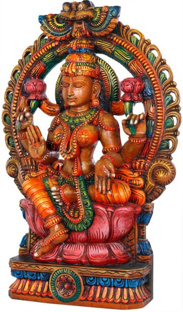 The ones truly devoted to Devi Lakshmi are never lacking in prosperity. She is t…