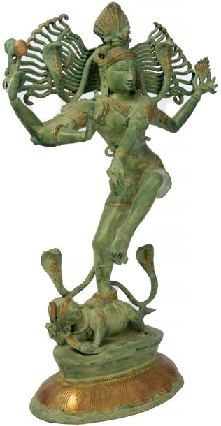 "An Example of Rare Skill…. (Large Size) Specifications:  Brass Statue  ""30.5 inc…"