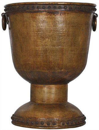 Super Large Brass Planter The extremely magnified size of this artefact is somet…