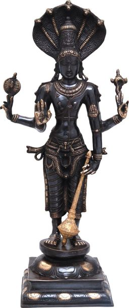 Specifications:  Brass Statue  32 inch x 14 inch x 9 inch   19.5 kg    This lumi…