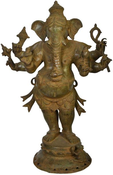 Large Size Standing Ganesha Even the not so pious of your visitors will take atl…