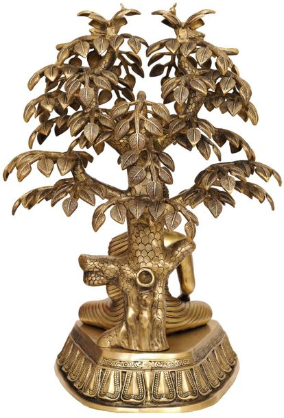 Large Size Nirvana Buddha Under the Tree of Life At the age of 35, on the night …