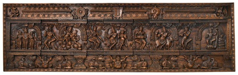 Shri Krishna Lila Panel The lila (divine playfulness) of Lord Krishna is unspeak…