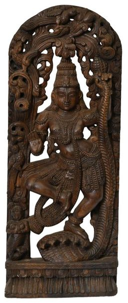 Krishna Subdues Kaliya (Large Size) This is an iconic statue of Lord Krishna's c…