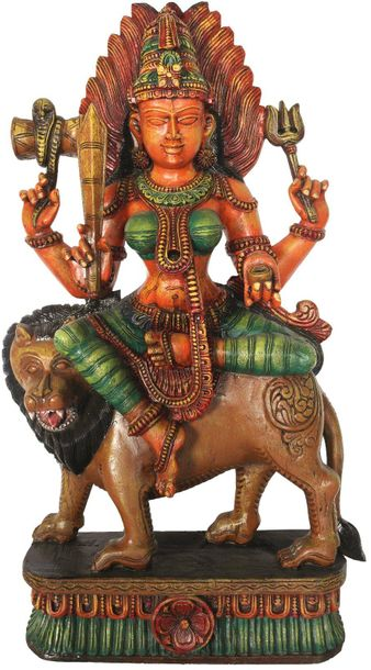 Devi Mariamman is the name given in South India to the more recognisable Sheetal…