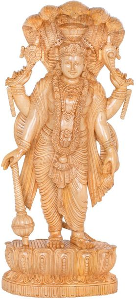 The Lord Vishnu is what comes between creation and destruction. He is responsibl…