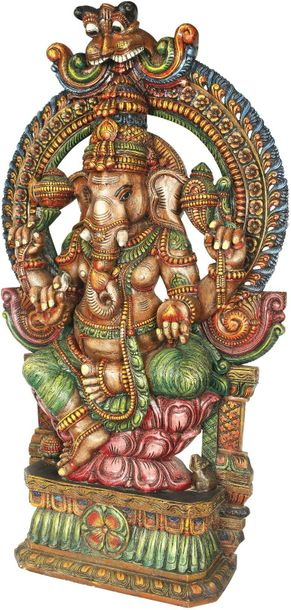 Specifications:  South Indian Temple Wood Carving_x000D_70.00 inch Height x 40.0…