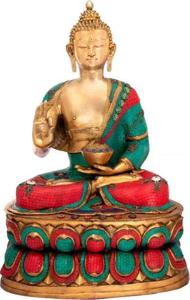 Preaching Buddha Buddha is the one who walked the path of harsh realities leavin…