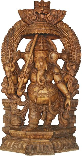 When one begins to look for the beloved Ganesha in itihasa, the older of the two…