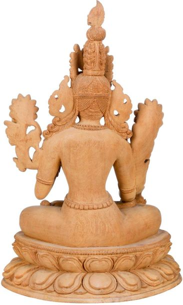 Specifications:  Wood Carving From Nepal  14.20 inch Height x 9.50 inch Width x …