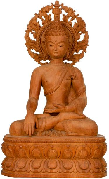 Specifications:  Wood Carving From Nepal  14.00 inch Height x 8.30 inch Width x …