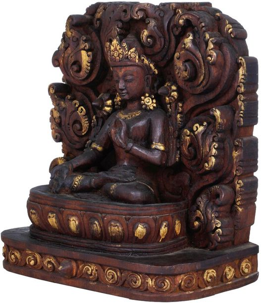 Goddess White Tara with Seven Eyes Who Bestows Long Life on Her Devotees (Tibeta…