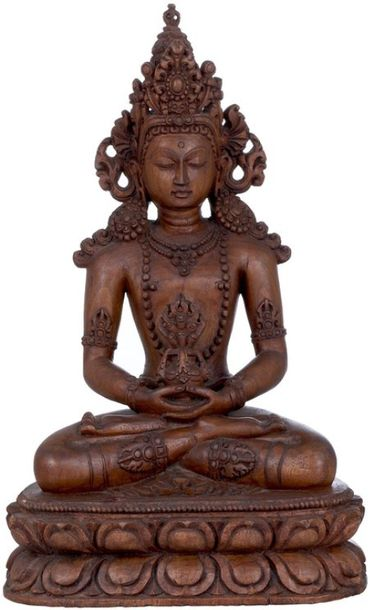 Specifications:  WOOD CARVING FROM NEPAL  11.70 inch Height x 7.20 inch Width x …