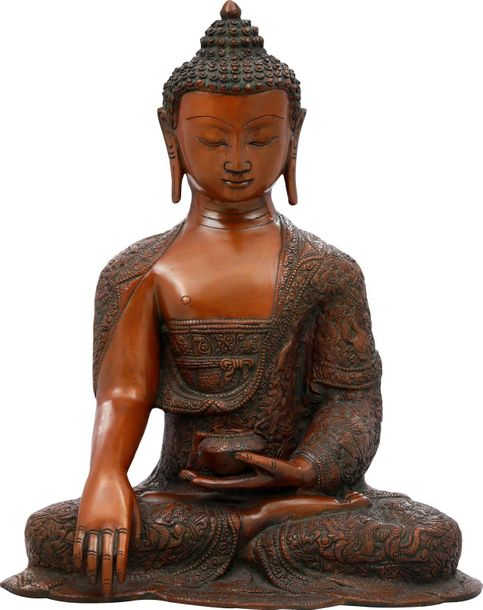 The Buddha is radiant. His skin is flawless, His form cast in the best proportio…