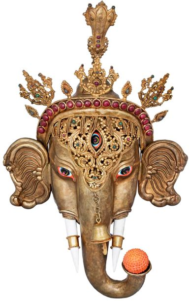 Ganesha, the god of beginnings is honored at the start of rites and ceremonies. …