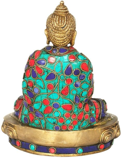 Lord Buddha in Bhumisparsha Mudra (Inlay Statue) It is believed that Prince Sidd…
