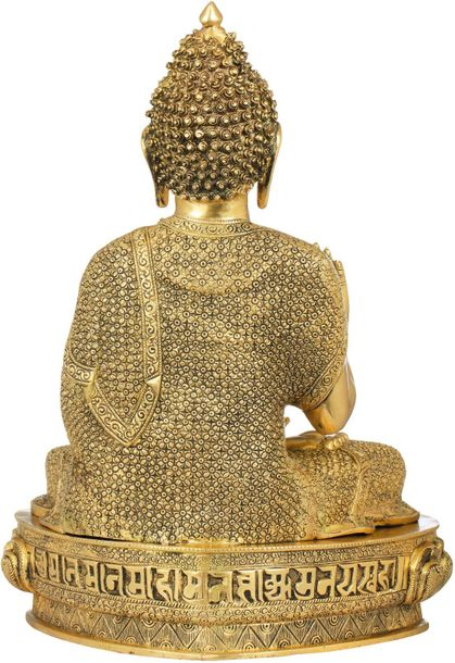The unmistakable silhouette of the Buddha makes this work a must buy. Of flawles…