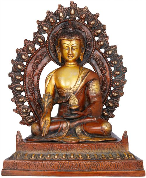 The Unfailing Healer of the Ills of Samsara (Tibetan Buddhist God Medicine Buddh…