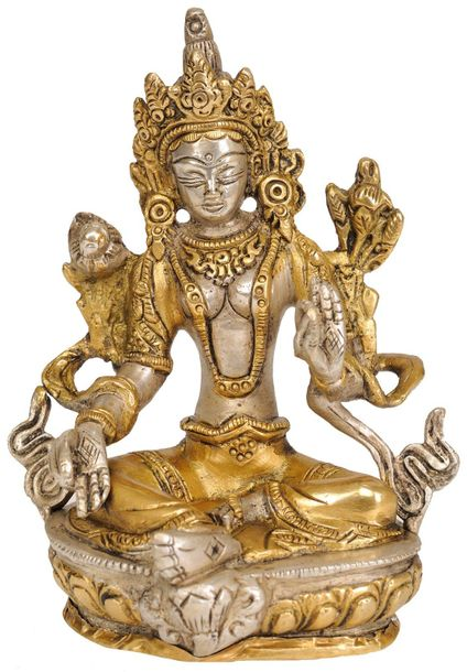 Green Tara, Her Captivating Beauty (Tibetan Buddhist Deity) There are thought to…