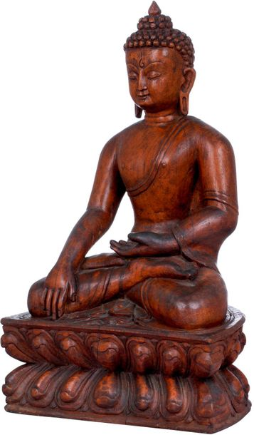 Specifications:  Wood Carving From Nepal  12.50 inch Height x 7.70 inch Width x …