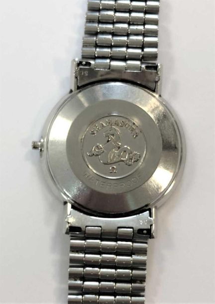 C1961, model 14770 SC 61, the signed silvered dial, 30mm diameter, with silver c…