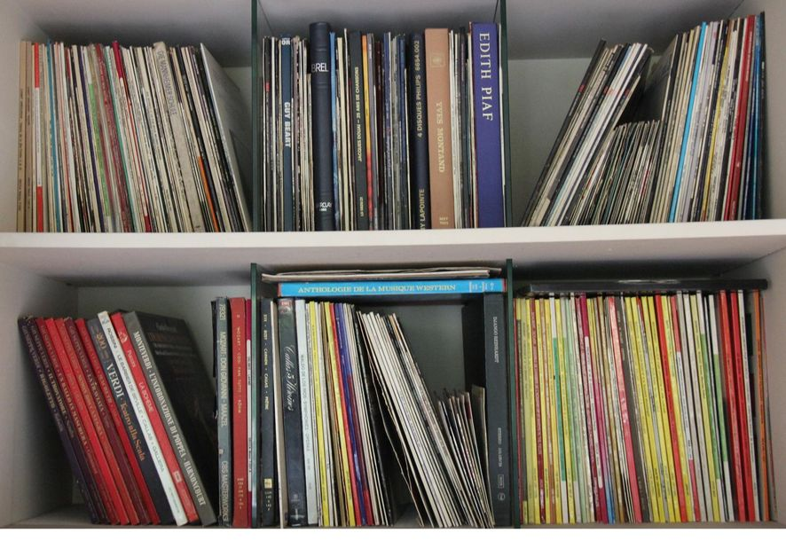 Lot de disques vinyles