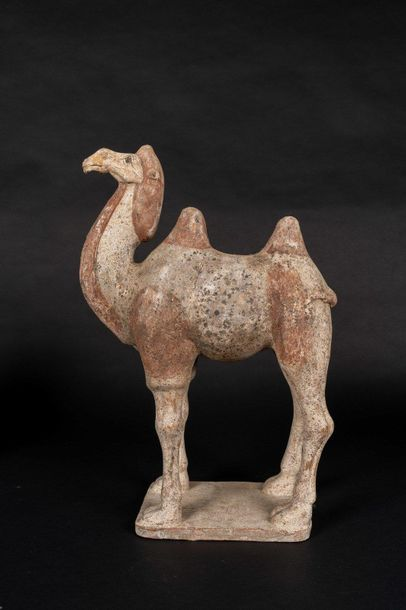 Chinese Art. An earthenware Bactrian camel China, Tang dynasty, 9th century. Sta…