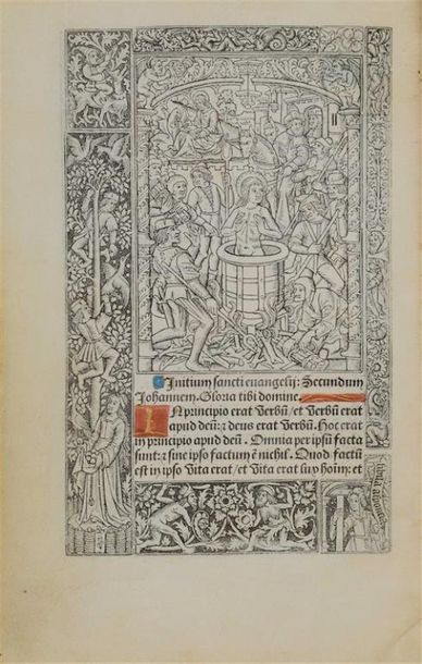 [Post-incunable]. [HEURES (Rome). 1502]. Hore intemerate Virginis Marie secundu[m]…