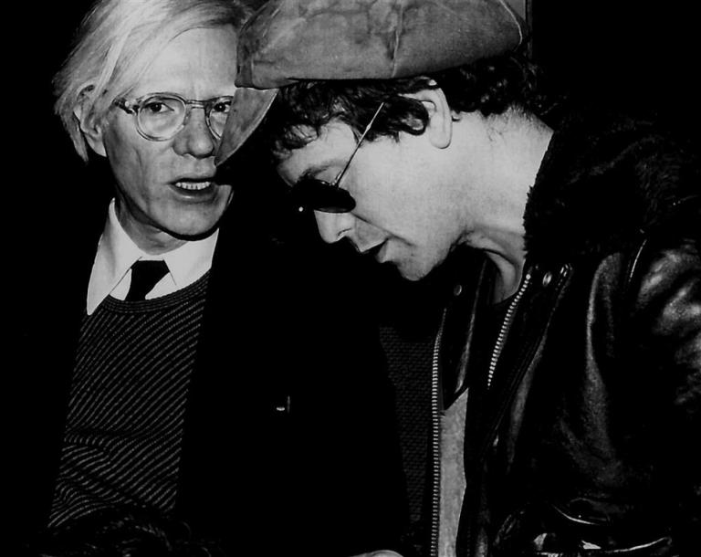 ANDY WARHOL & LOU REED. By Rose Hartman. Party for Interview Magazine. Studio 54…