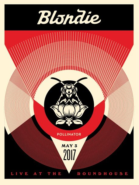 Shepard Fairey Shepard Fairey (Obey)   Live at the Roundhouse (Noir), 2017   Sér…