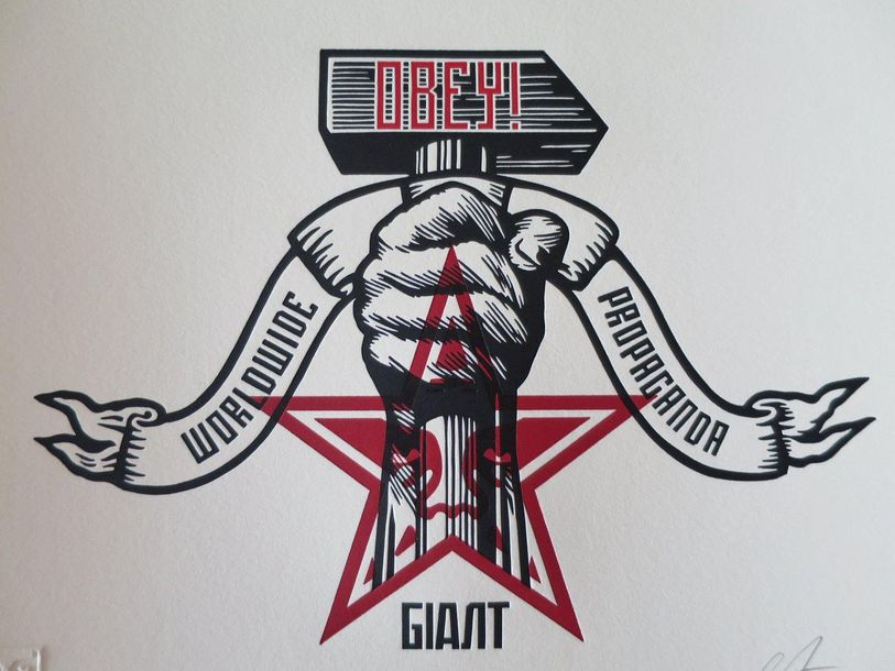 Shepard Fairey Shepard FAIREY (Obey)   Hammer And Fist, 2019     Hammer and Fist…