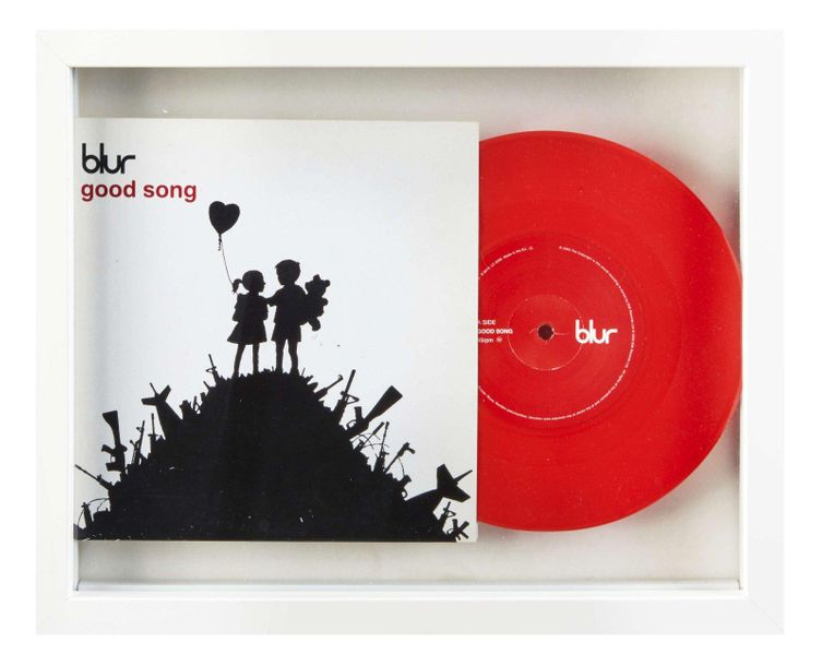 Banksy Banksy (d'après)  Blur / Good song, 2003    Impression offset sur pochett…