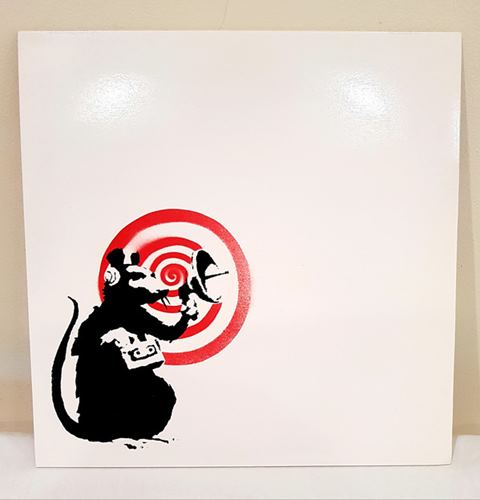 "BANKSY (UK) COLLECTOR ""Dirty Funker Future Radar Rat"" 33T édition limitée 2008 B…"