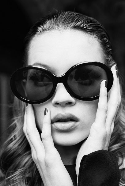 STEPHANIE PFRIENDER STYLANDER 1960 « Kate Moss, I see you », 1992. Tirage argentique…