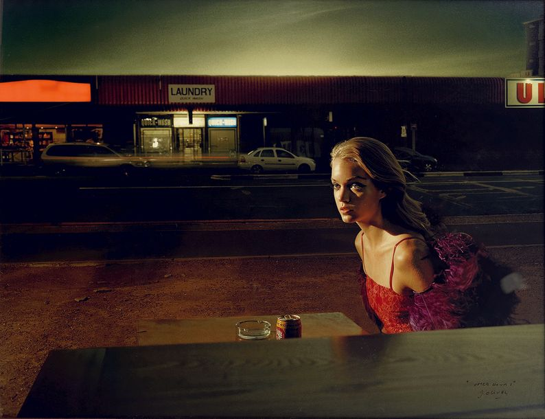 "JACQUES OLIVAR 1941 ""After hour"" New Morning Capetown, 2004. Tirage couleur 2011…"
